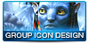 AVATAR Group Icon Design No. 3 by mike-reiss