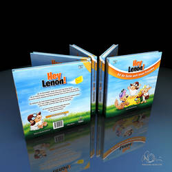Hey Lenon Book Cover 3D Render