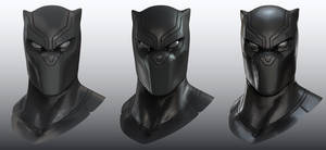 Black Panther Shader Study with Cinema4D