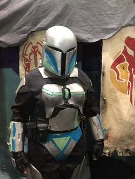 Verda Tal mandalorian armour