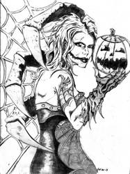Madame Halloween by bobveon