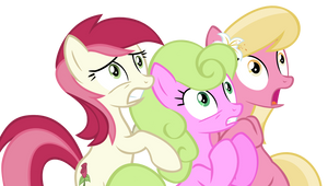 Roseluck, Daisy, Lily