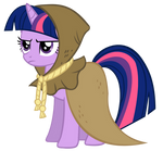 Twilight Sparkle as Clover the Clever