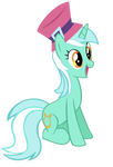 Lyra with a hat