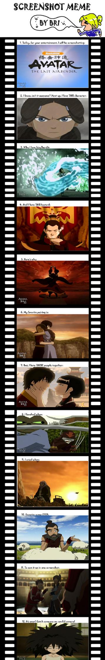 Avatar Meme by HerosofOlympus