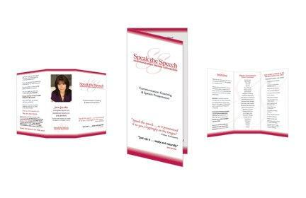 Speak the Speech Brochure