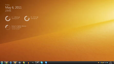May 6th, 2011 Desktop by TheBlackParrot