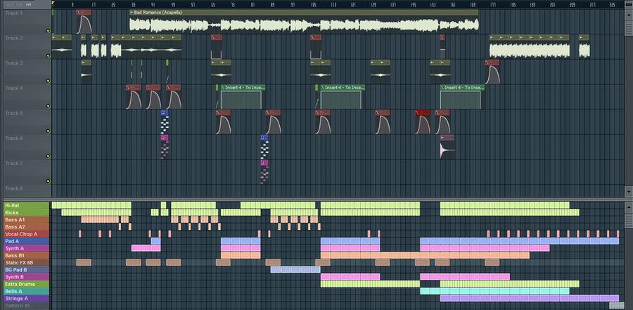FL Studio snapshot 1 by TheBlackParrot