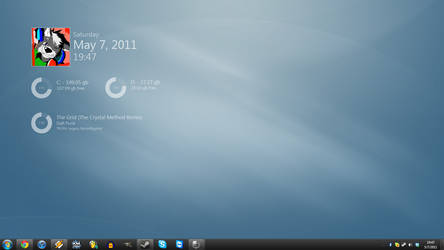 May 7th, 2011 Desktop by TheBlackParrot