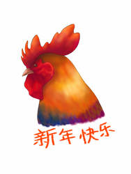 Year of the Rooster by AzuriteWarrior99