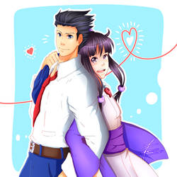 Ace Attorney - I'll be there, I'll watch your back by Minouze