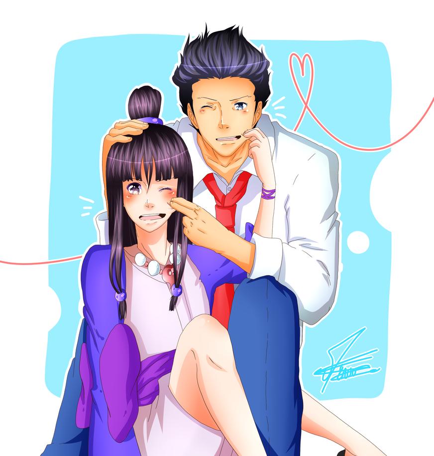 Ace Attorney - You and I by Minouze