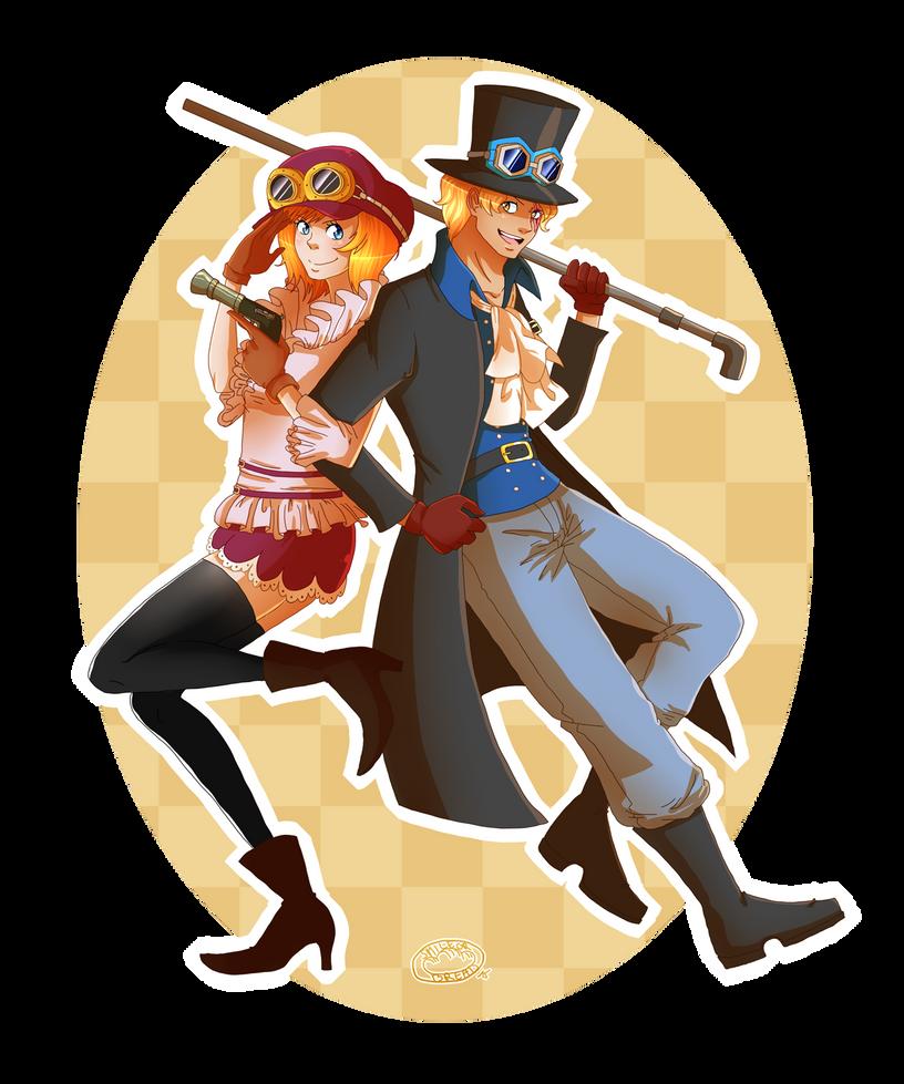 One Piece - Revolutionary Buddies by Minouze