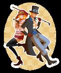 One Piece - Revolutionary Buddies