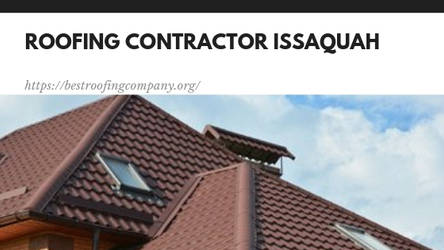 Best Roofing Contractor in Issaquah