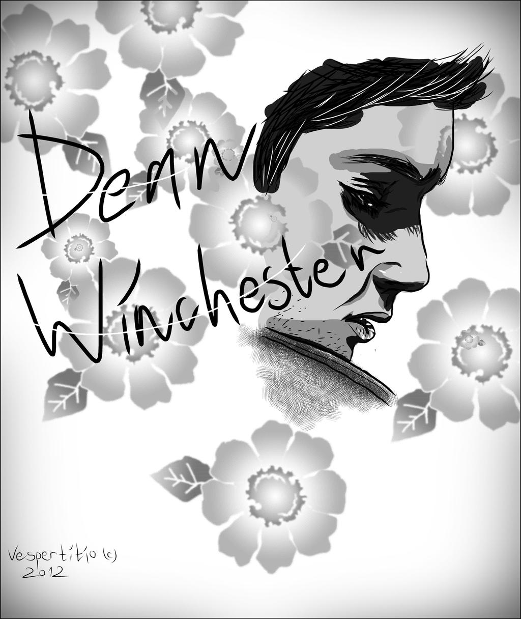 Dean Winchester by vespertitio
