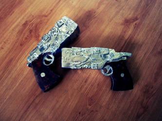 Arcia Rinslet Guns by zhmogeliukas