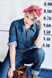 Rosie the Riveter 03 by zhmogeliukas