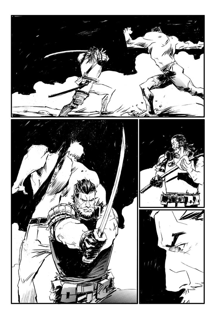 sons of yellowstone #2 page preview by porcholino