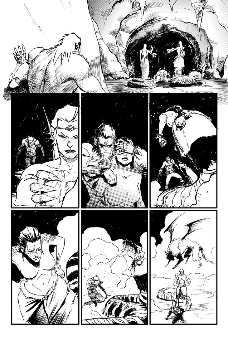 M VII page preview by porcholino
