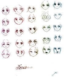 25 Faces by NeonGenesisEVARei
