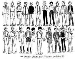 boys uniforms 01 by NeonGenesisEVARei