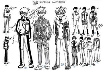 boys uniforms 02 by NeonGenesisEVARei
