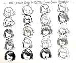 twenty ways- basic hairstyle-