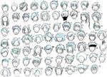 boys hairstyles 01 by NeonGenesisEVARei