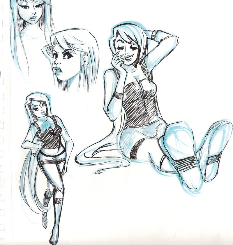 deviantart character sketches - photo #2