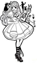 Apparently Alice by NeonGenesisEVARei