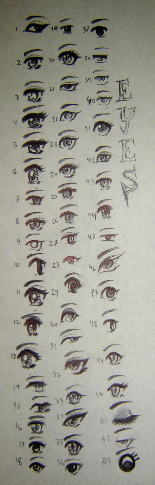 How to Draw an Anime Eye Crying 7 Steps with   wikiHow