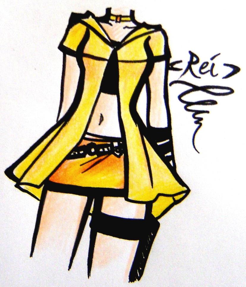 yellow-orange -design- by NeonGenesisEVARei