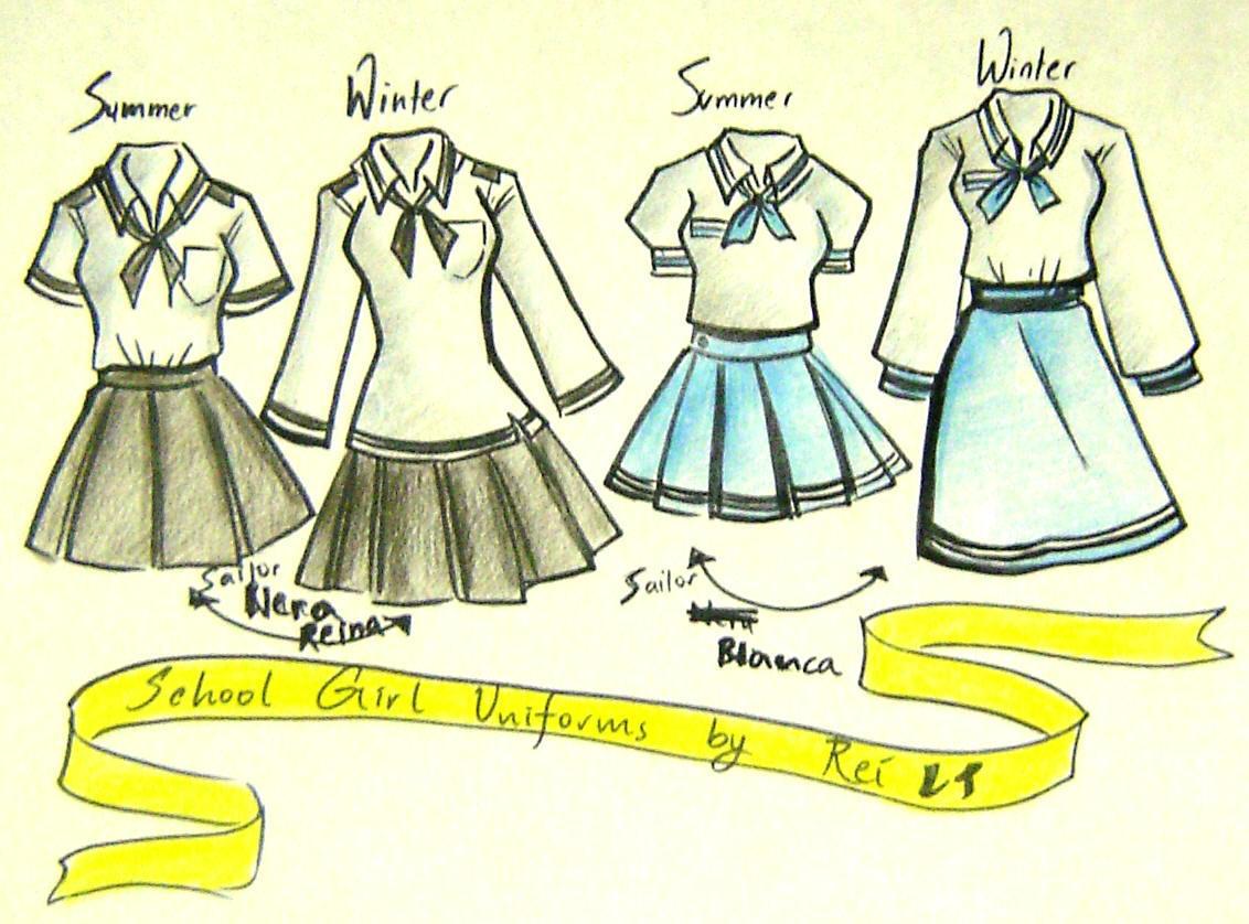 School Girl Uniforms Entry2 By NeonGenesisEVARei On DeviantArt