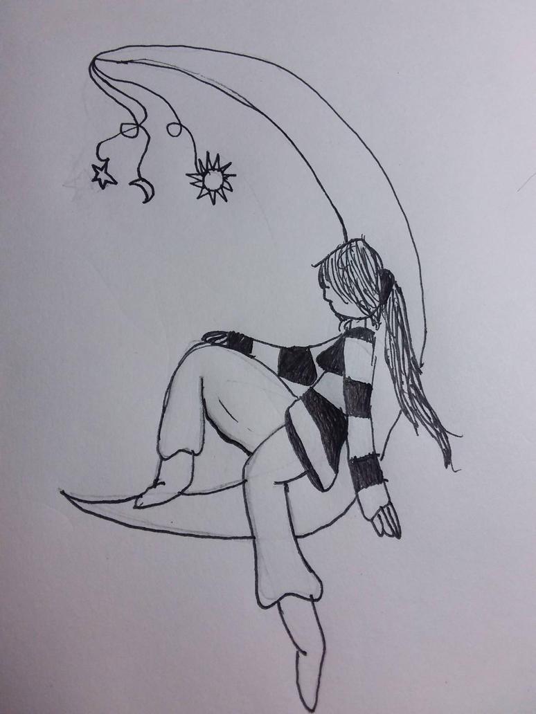 here a doodle by BowTieKittie