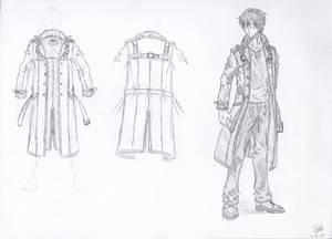 Coat Design -SKETCH-