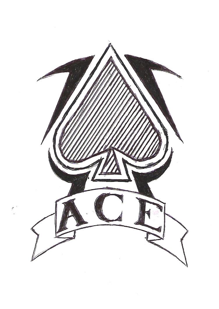 Ace of Spades Tattoo Designs