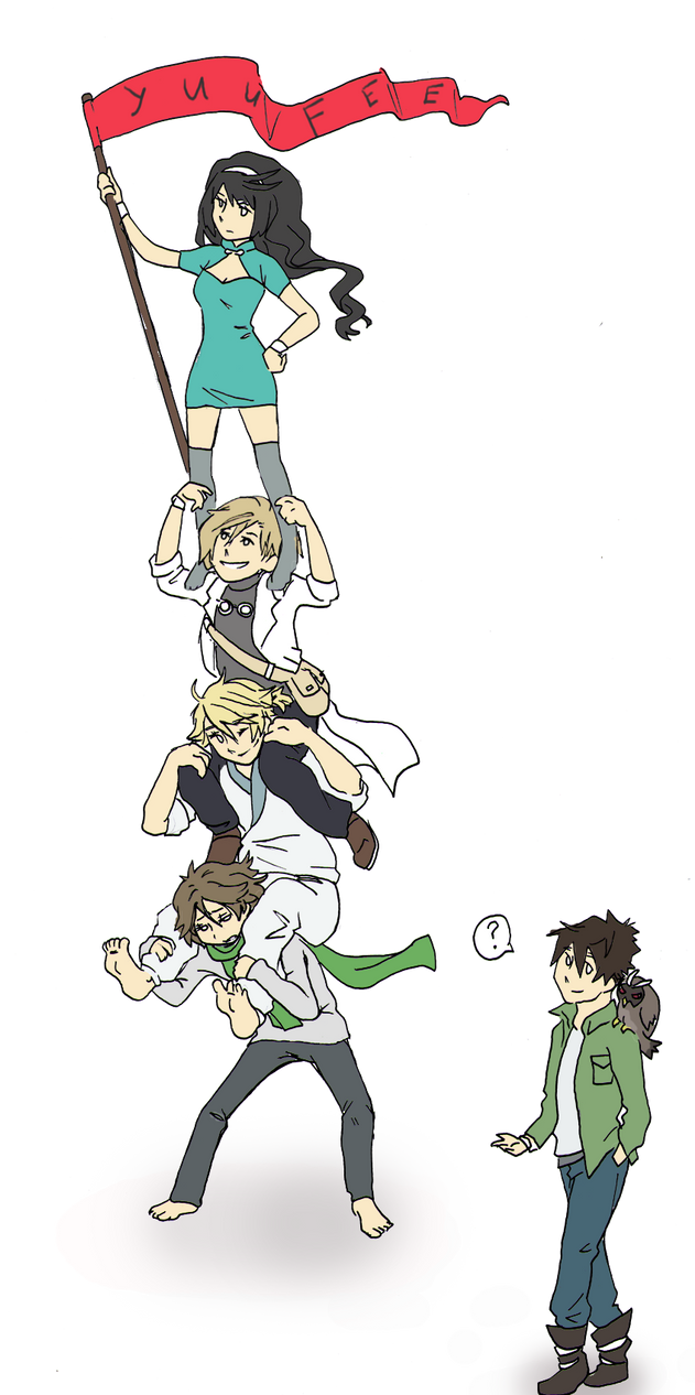 Original Characters by Yuufee