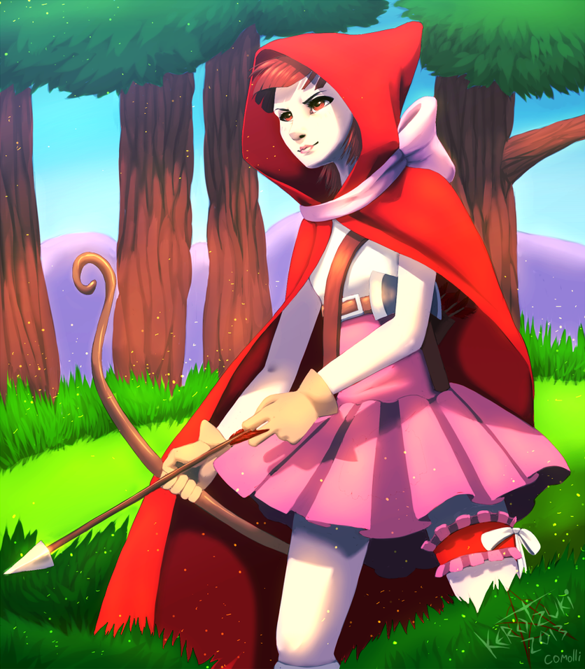 little red riding hood other version by kerotzuki94 on