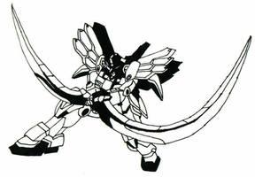 Gundam Attempt: Sandrock by Raiden16