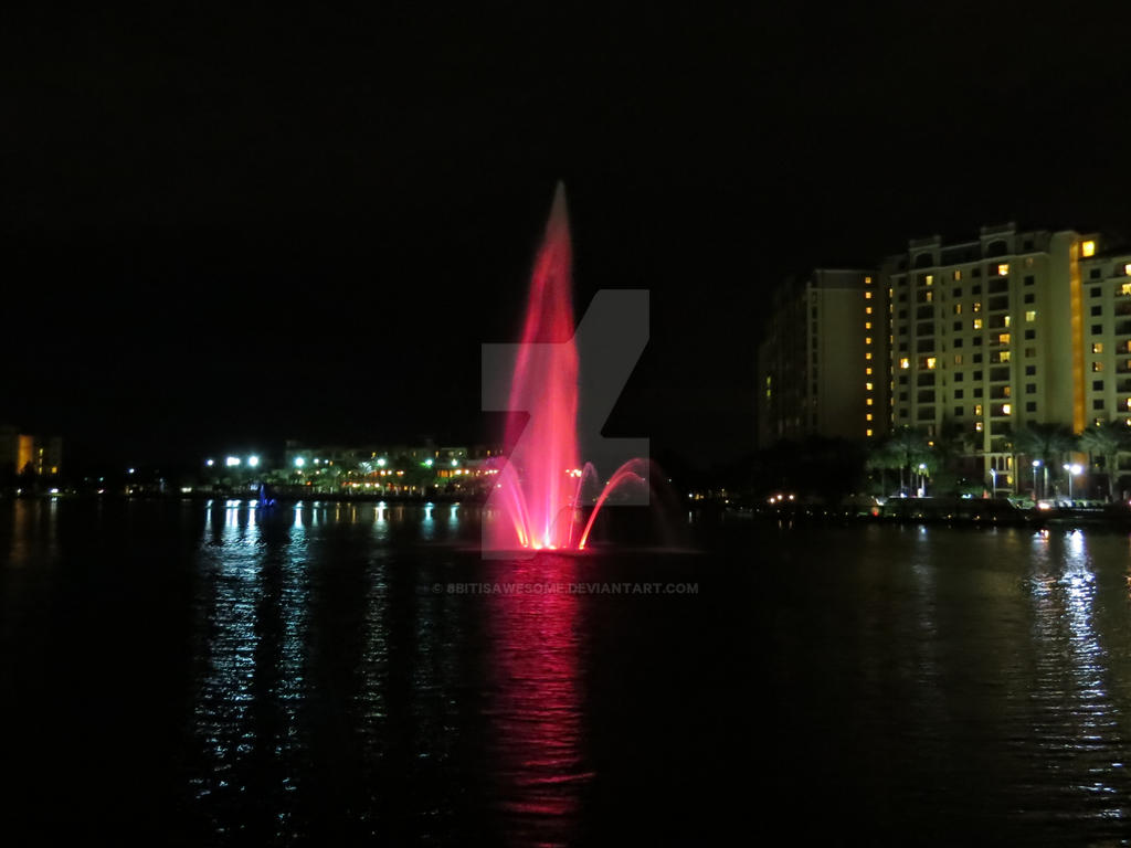 Pink Fountain Disney by 8bitisawesome on DeviantArt