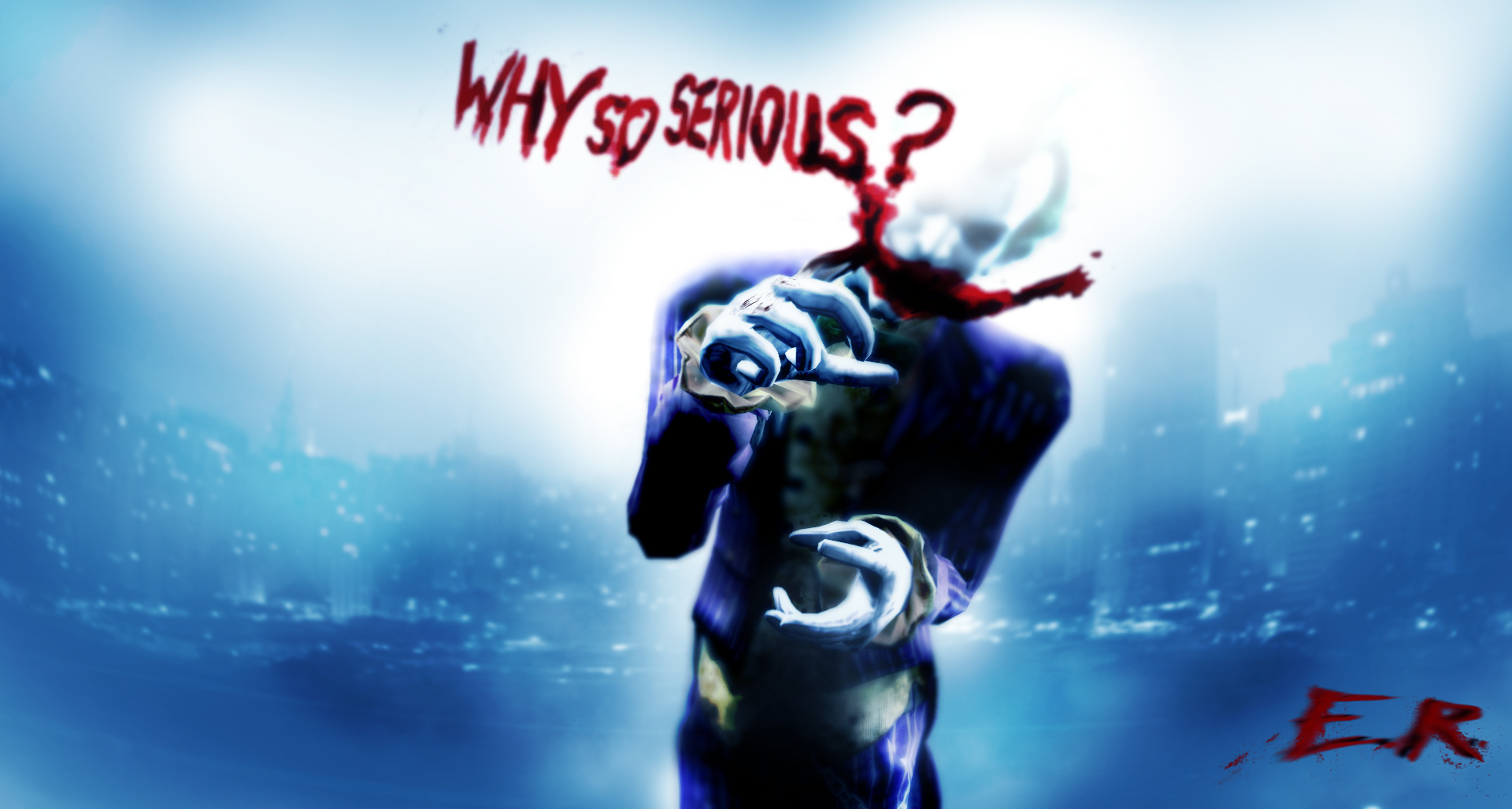 Why so Serious ? by IIReII on DeviantArt Joker Smile Png