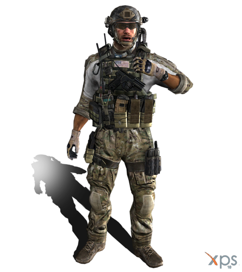 MW3 - Delta Force - Sandman by IIReII