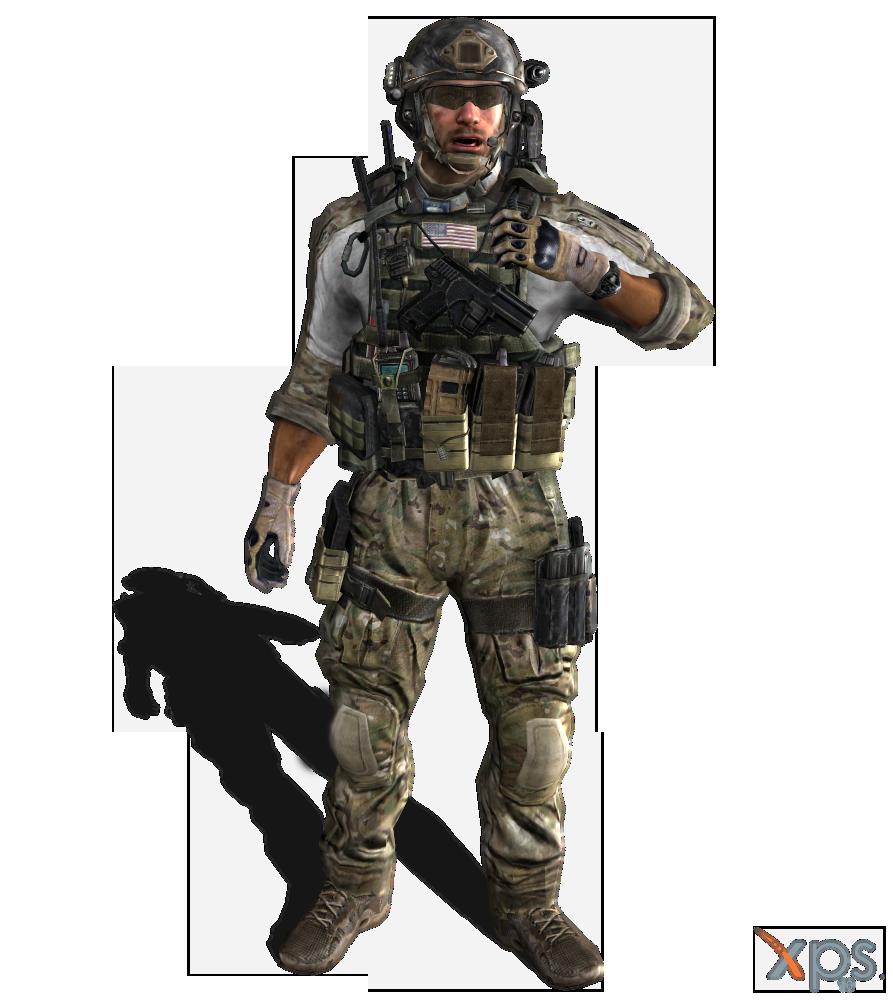 MW3 - Delta Force - Sandman by IIReII