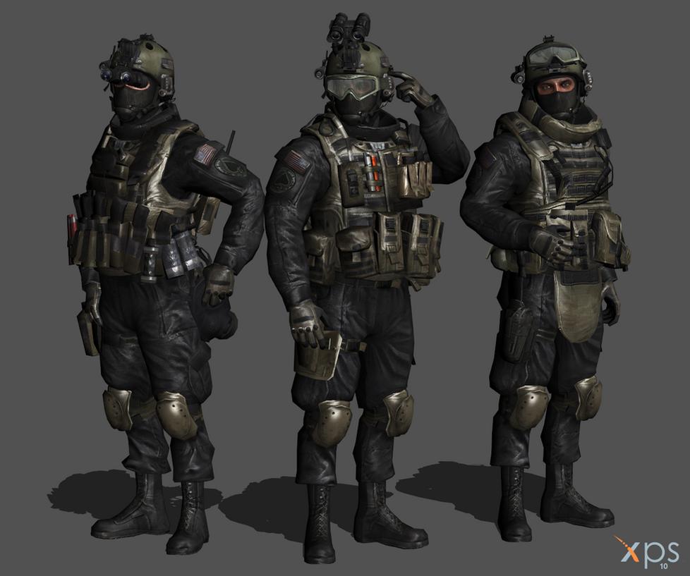MW2 - Shadow Company by IIReII