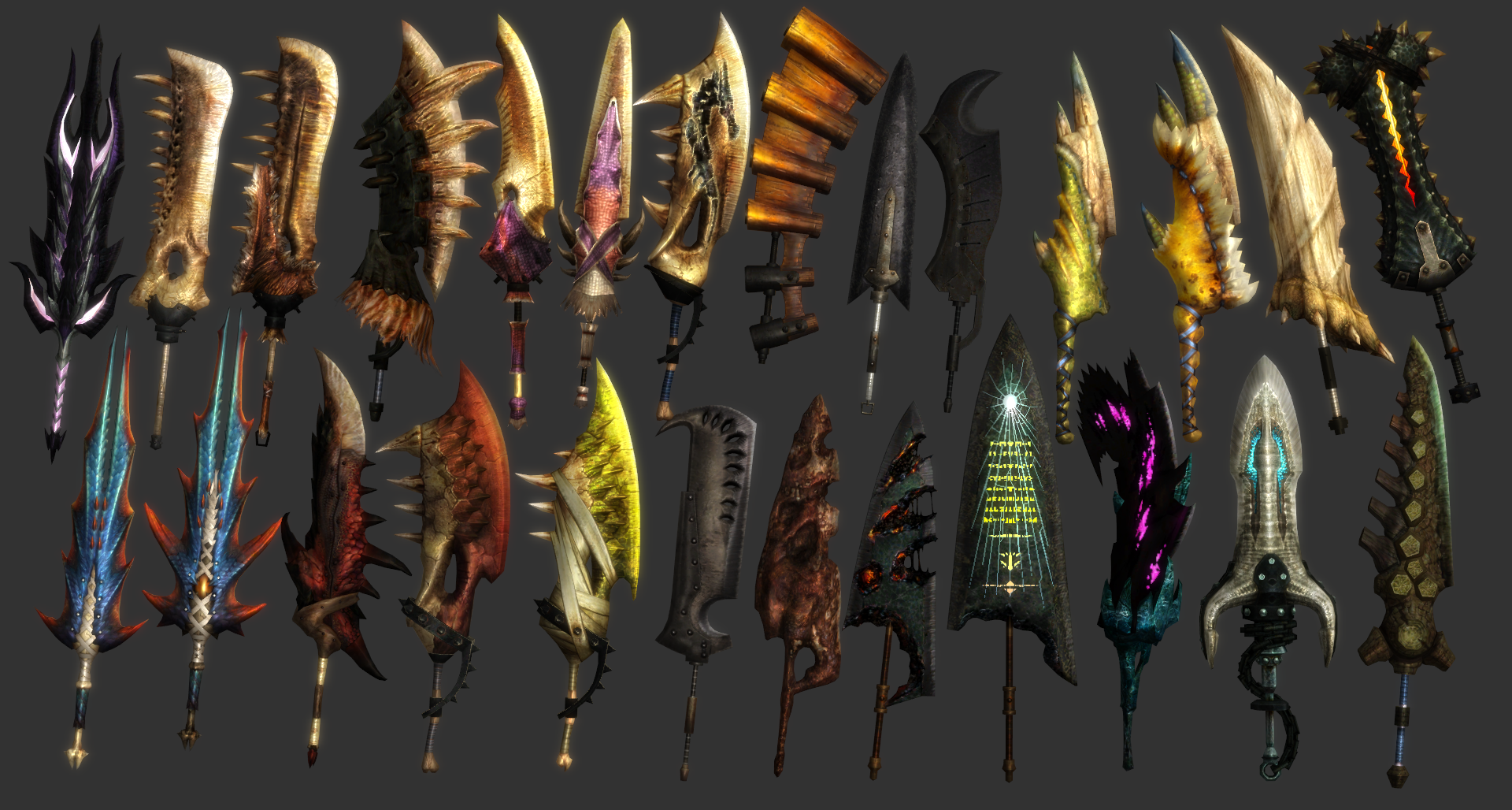 Mh All Great Swords