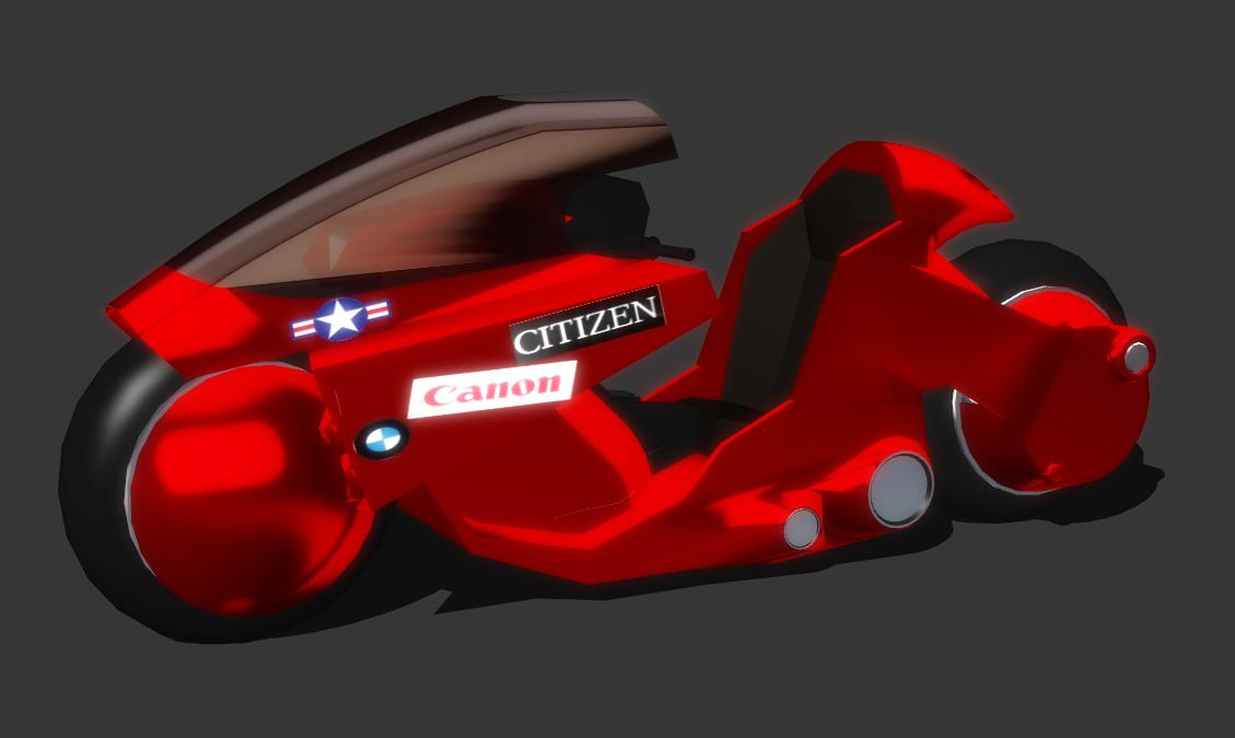 (Akira) Kaneda Bike (Updated) by IIReII