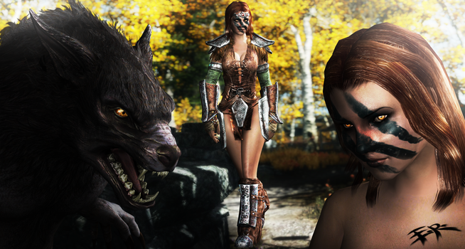 (ER) Skyrim - Aela  The Huntress and Werewolf