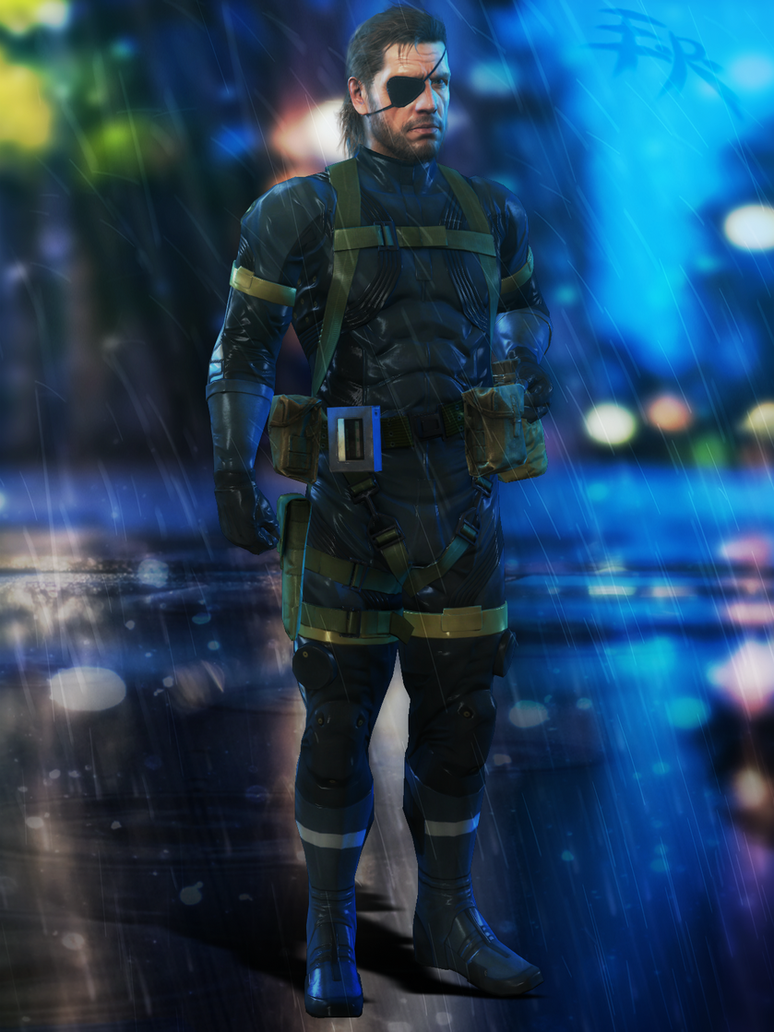 Metal Gear V : Ground Zeroes - BigBoss by IIReII