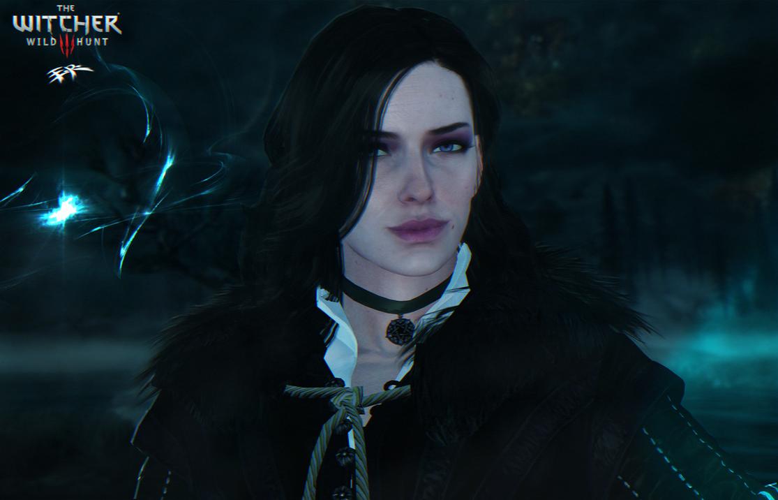 (ER) Witcher 3 - Yennefer (default) Update by IIReII